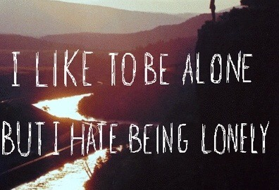 Lonely vs. Loner